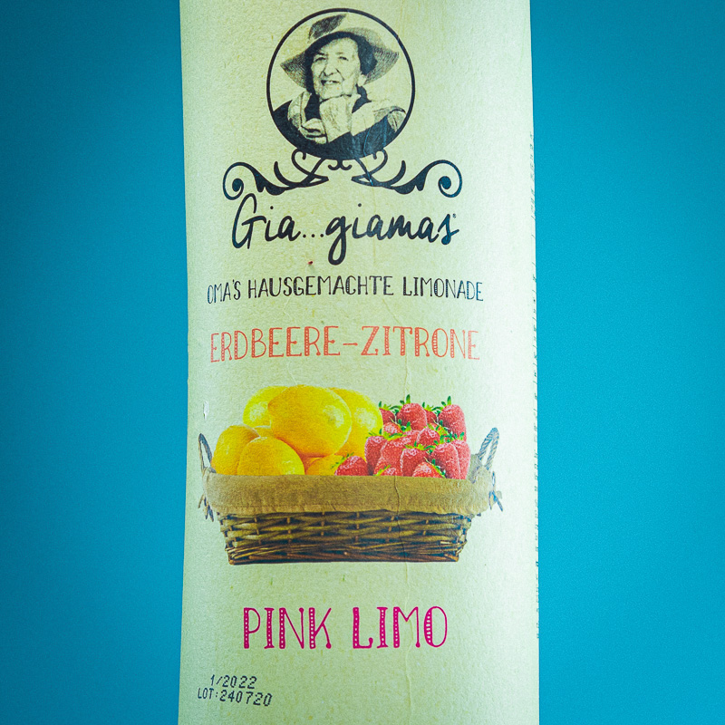 Gia...Giamas Erdbeere Zitrone Fl. 1300gr.