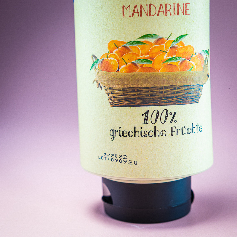 Gia...Giamas Mandarine Fl. 1300gr.